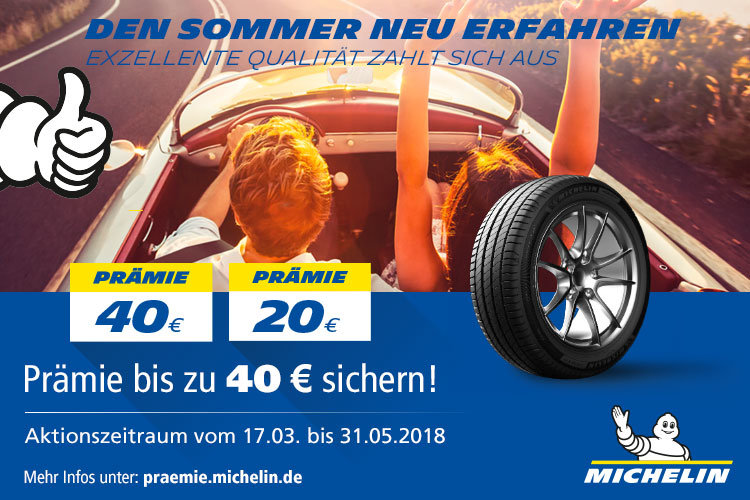 Michelin Sommerpromotion 2018